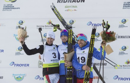 IBU Open European championships biathlon, pursuit men, Ridnaun (ITA)