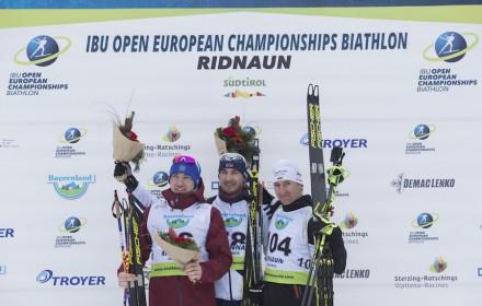 IBU Open European championships biathlon, sprint men, Ridnaun (ITA)