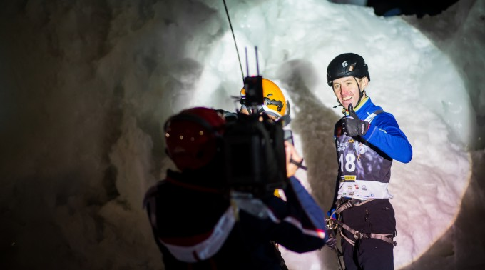 UIAA Ice Climbing World Cup, Rabenstein (Italy), 26.01.2018