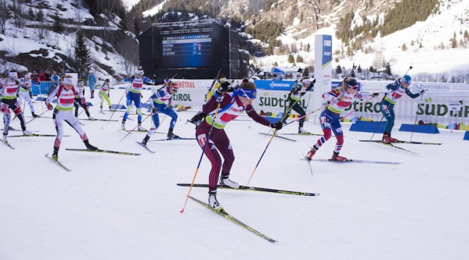 IBU Open European championships biathlon, relay mixed, Ridnaun (ITA)
