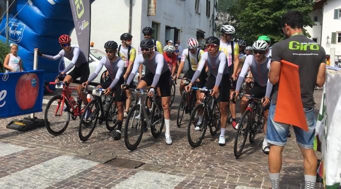Siegermannschaft Mannschaftszeitfahren