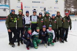 Team_Italia_festeggia_Rudy_Zini_IBU_Cup_Ridnaun-Ridanna_12_12_2019